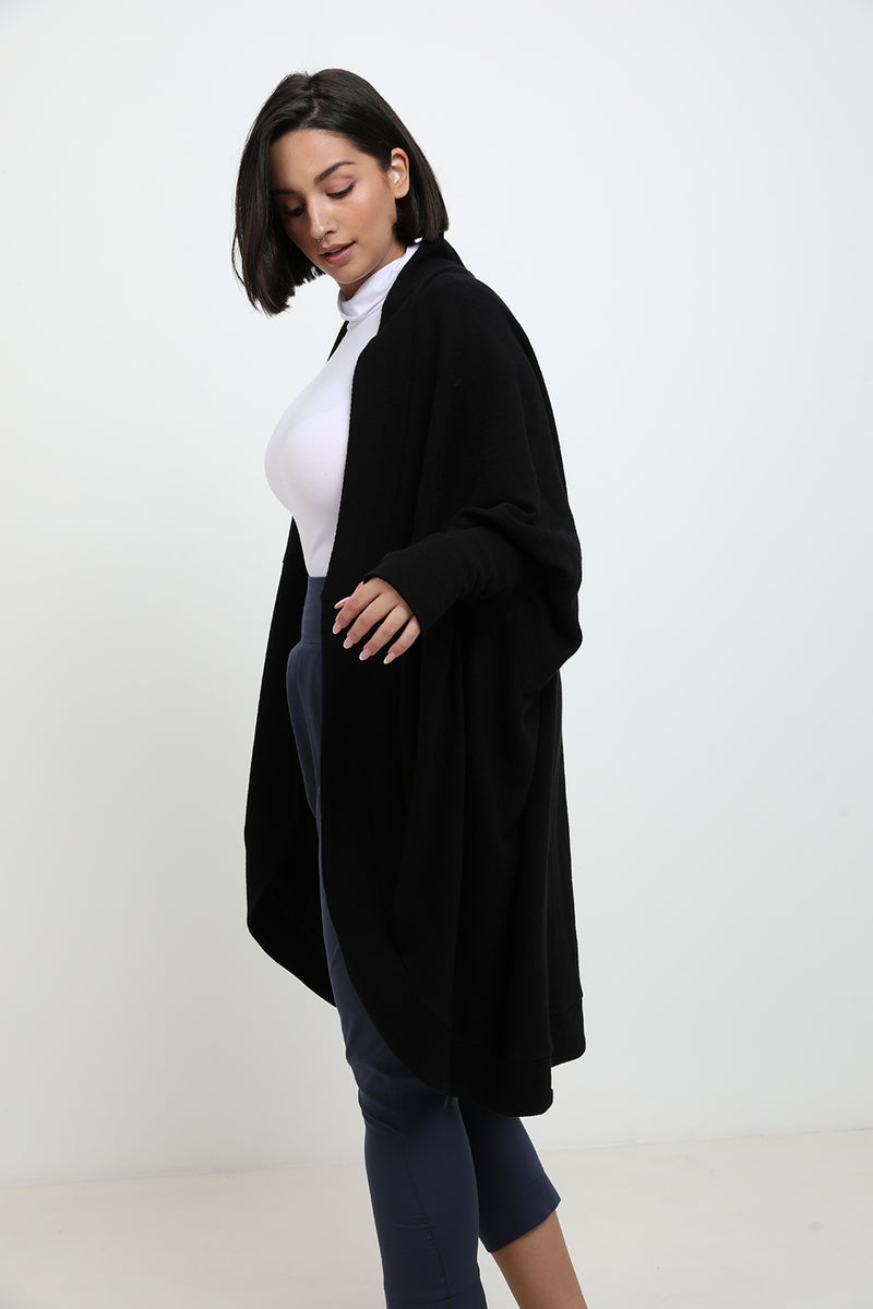 Vanessa cardigan Black - layou-design
