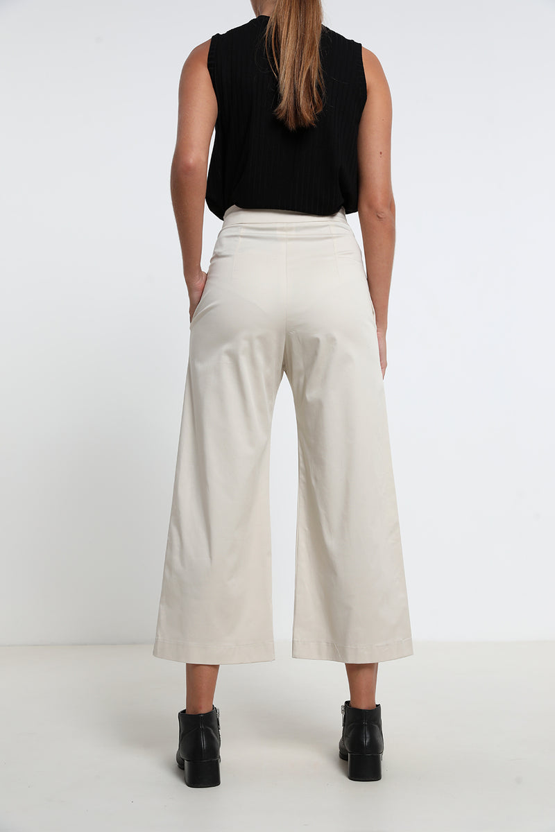 Nelly pants Cream - Layou Design by Shay Sobol