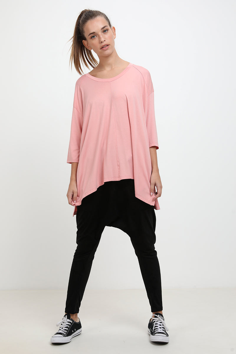 Babette shirt pink - Layou Design by Shay Sobol