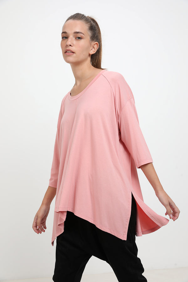Babette shirt pink - layou-design