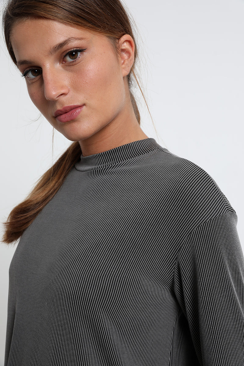 Eleanor shirt Black & Grey - layou-design