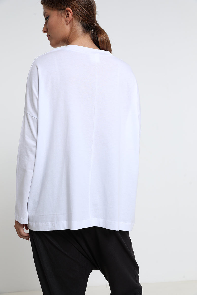 Cece shirt white - layou-design