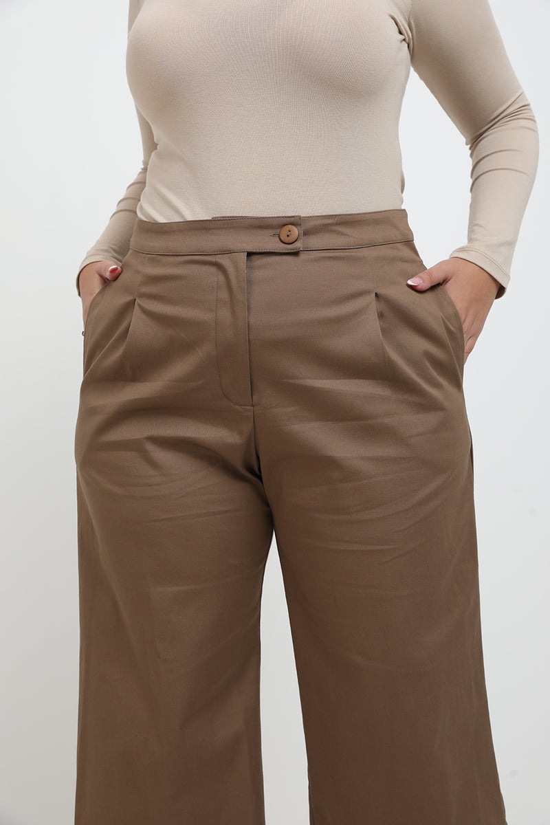 Rory pants brown - Layou Design by Shay Sobol