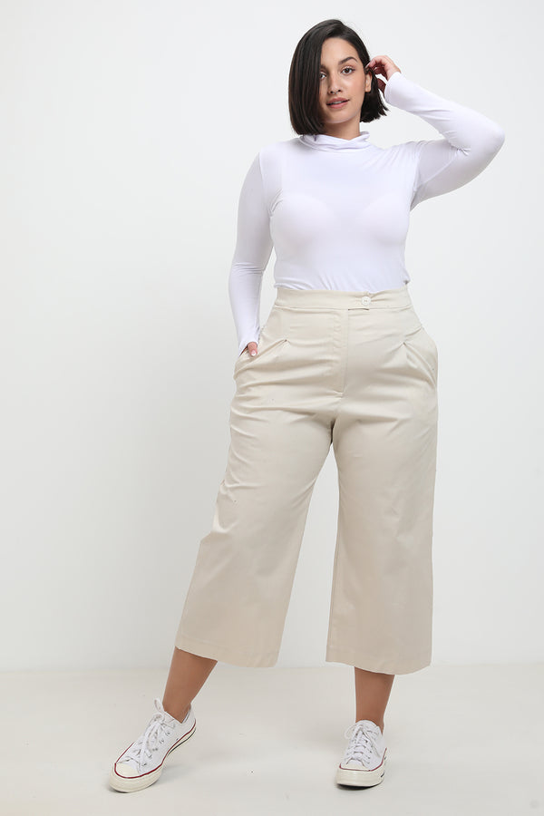 Nelly pants Cream - layou-design
