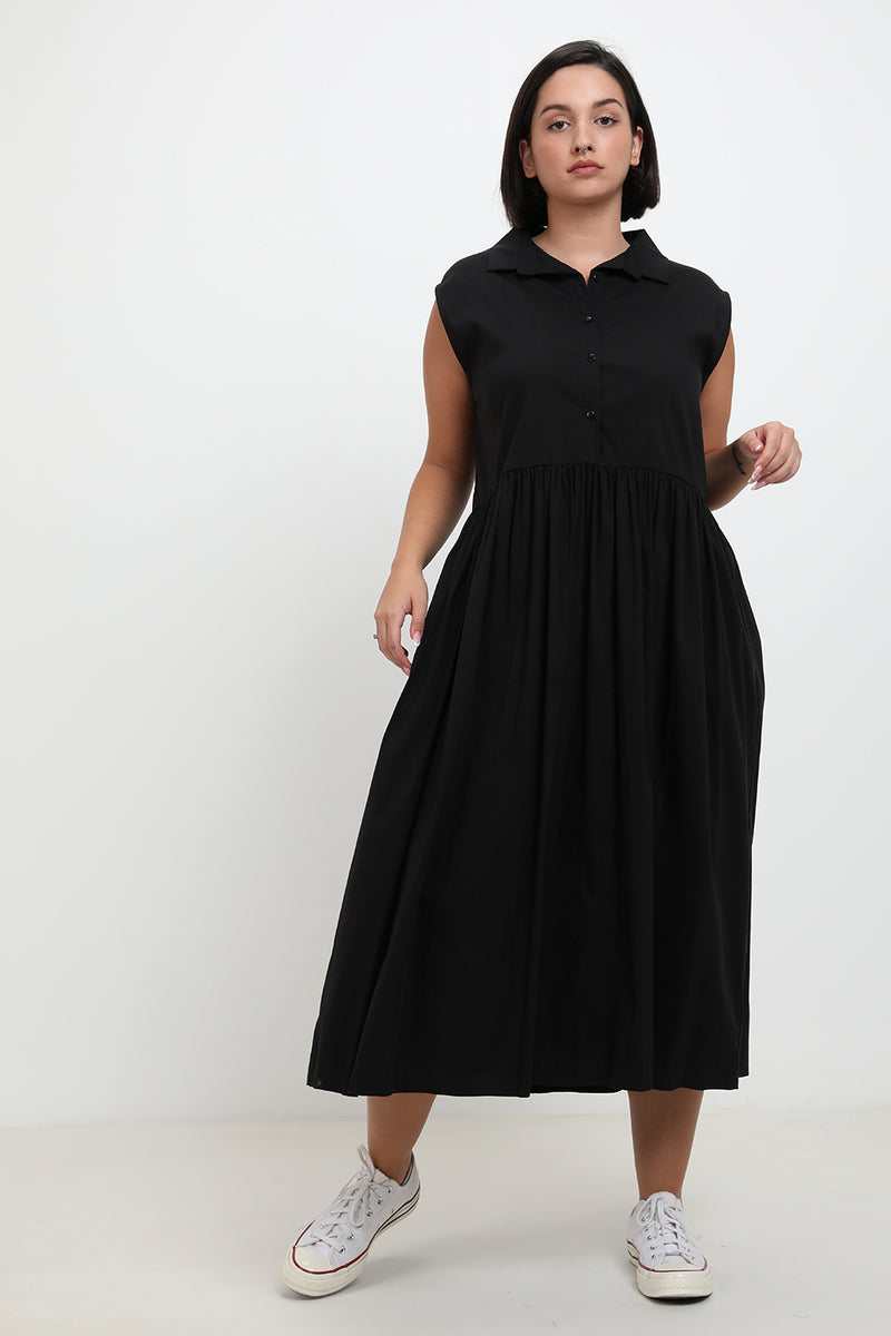 Sally Dress Black - layou-design