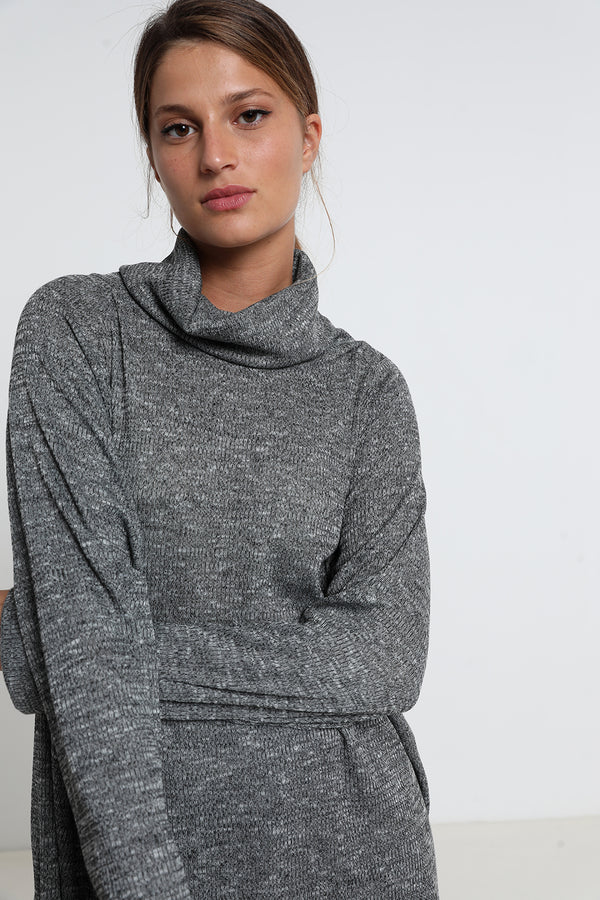 Giselle sweatshirt grey - layou-design