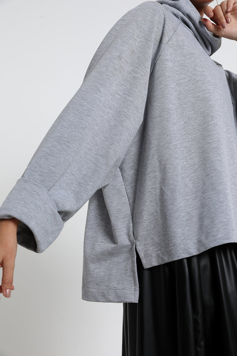 Diana sweater Grey - layou-design