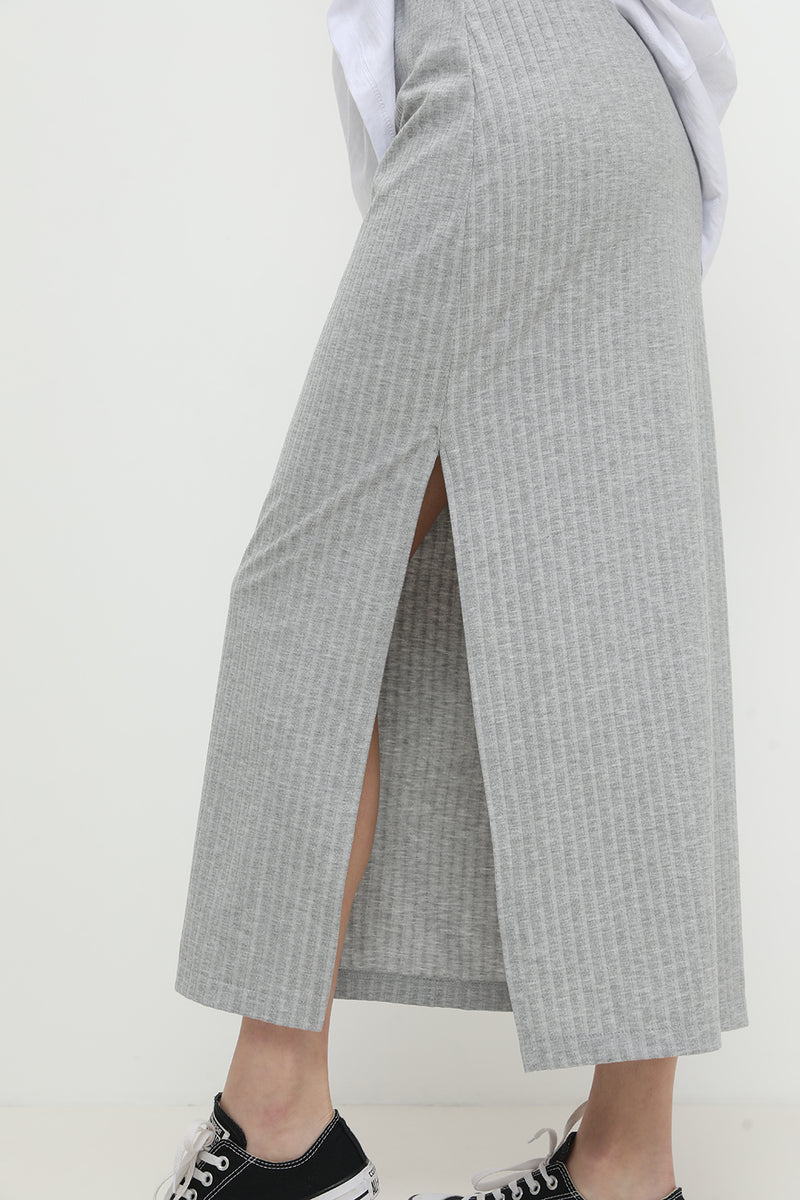 Jackie Skirt Grey