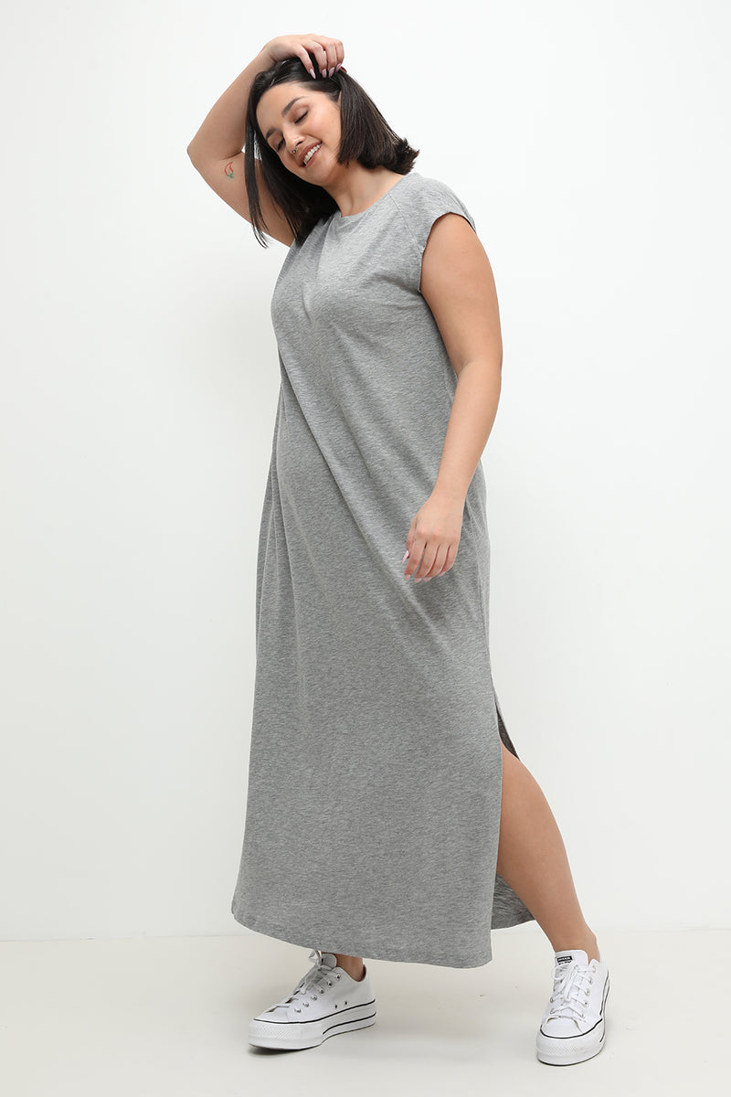 Janet Dress Grey