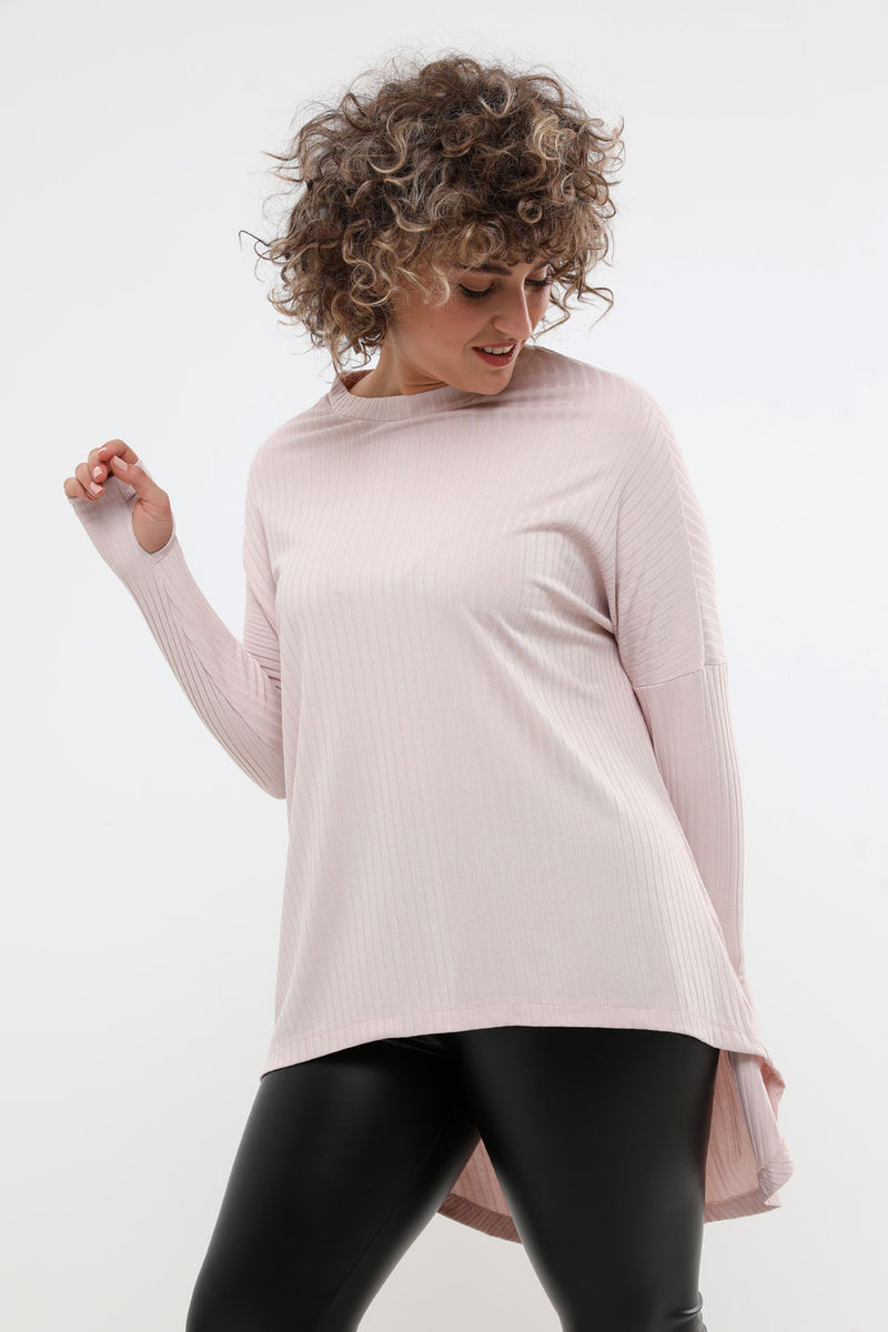 Alicia shirt pink - layou-design