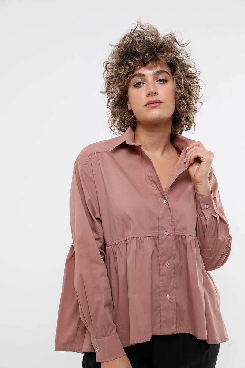 Zoe shirt pink - layou-design