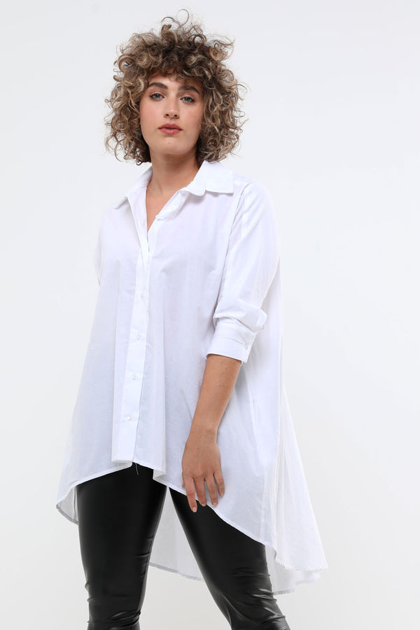 Kate shirt white - layou-design