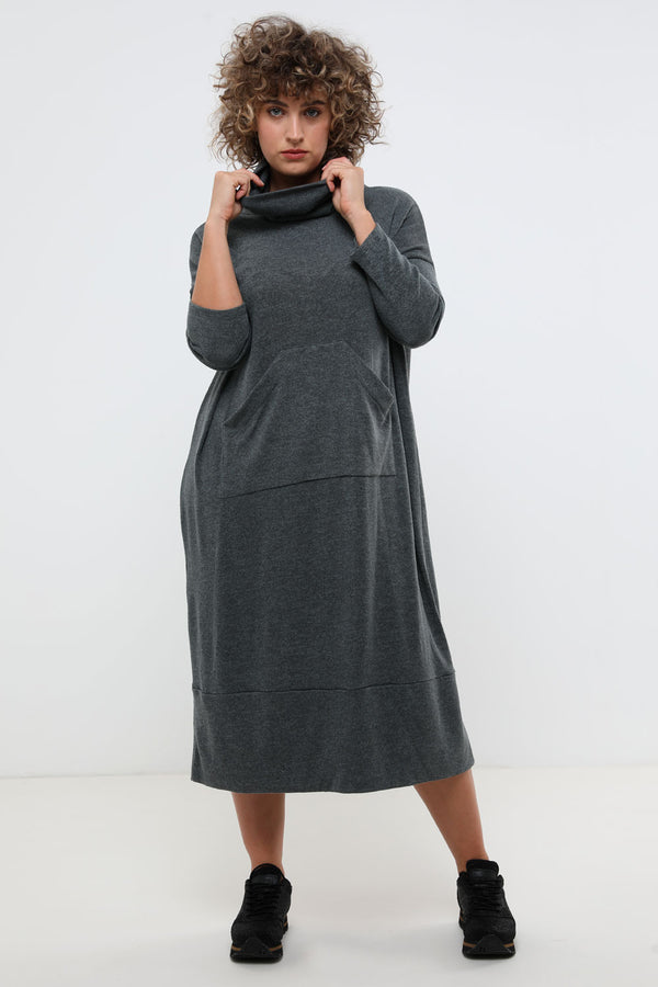 Sonia dress olive - layou-design