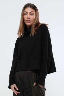 Jade top black