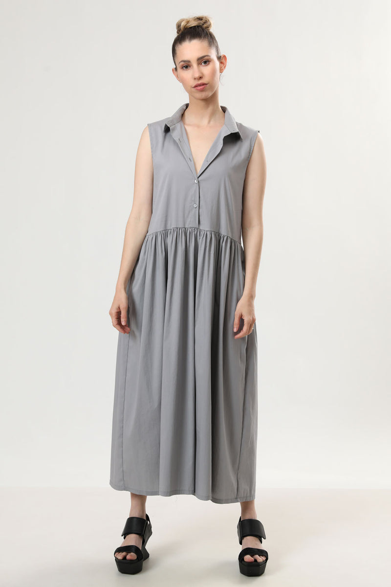 Sally Dress Grey - layou-design
