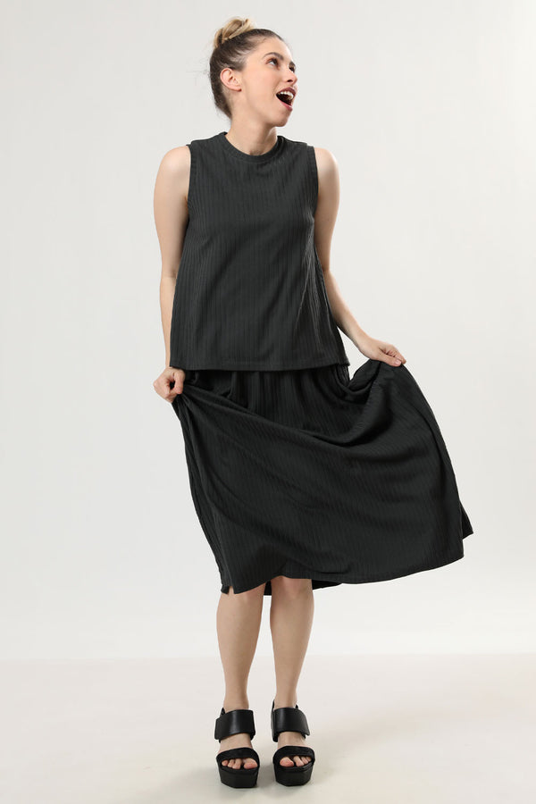 Betty Skirt Olive - layou-design