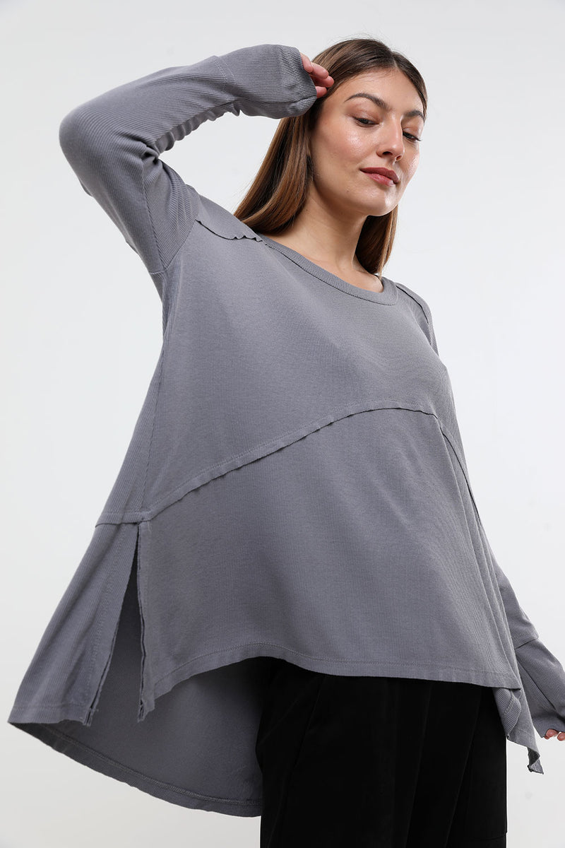 Val top grey - layou-design