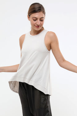 Birdy Tank Top Cream - layou-design