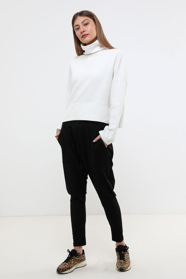 Frankie Napa pants black - layou-design