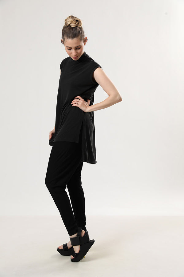 Kimi Tank Top Black Slab - layou-design