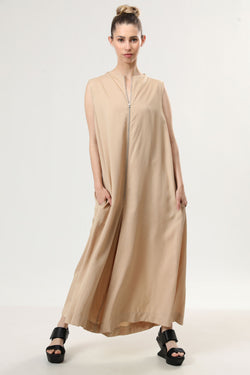 Joan Jumpsuit Sand - layou-design