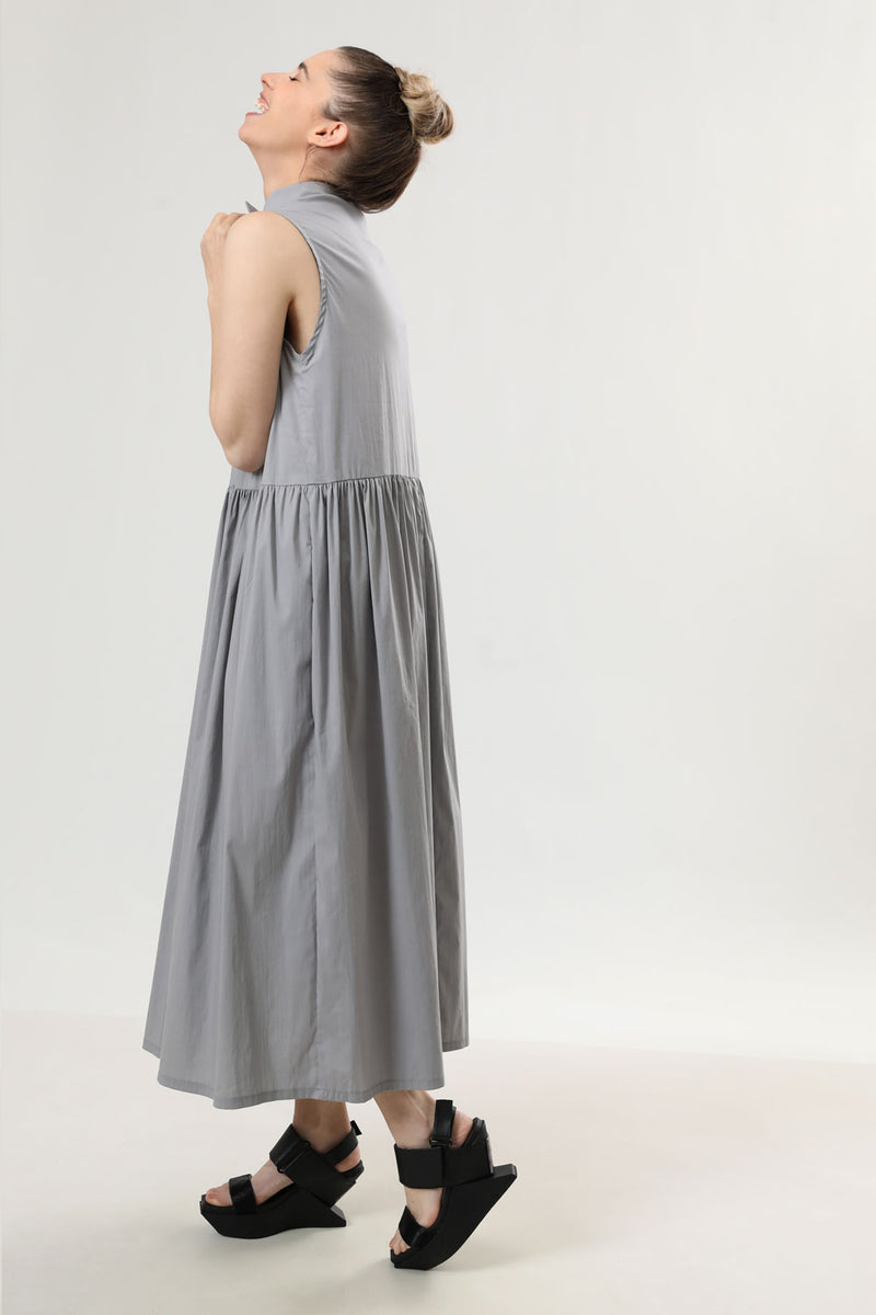 Sali Dress Grey - layou-design