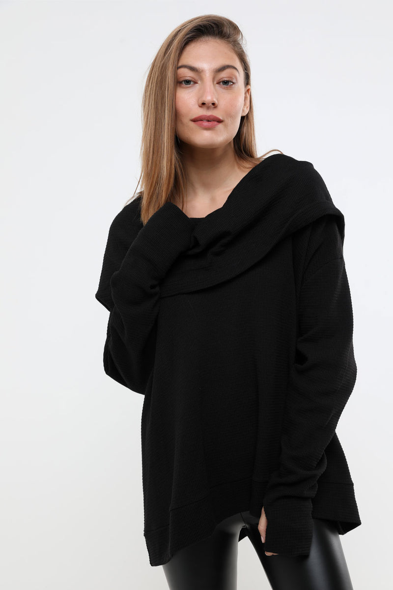 Bianca top black - layou-design