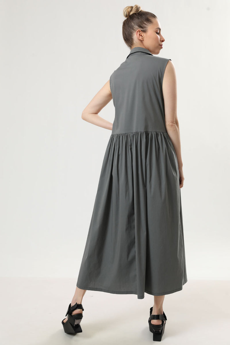 Sally Dress Olive - layou-design