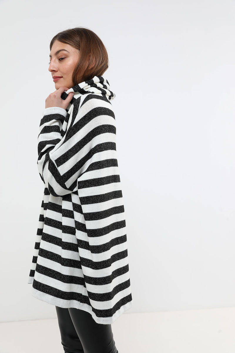 Rosie sweater black&white - layou-design
