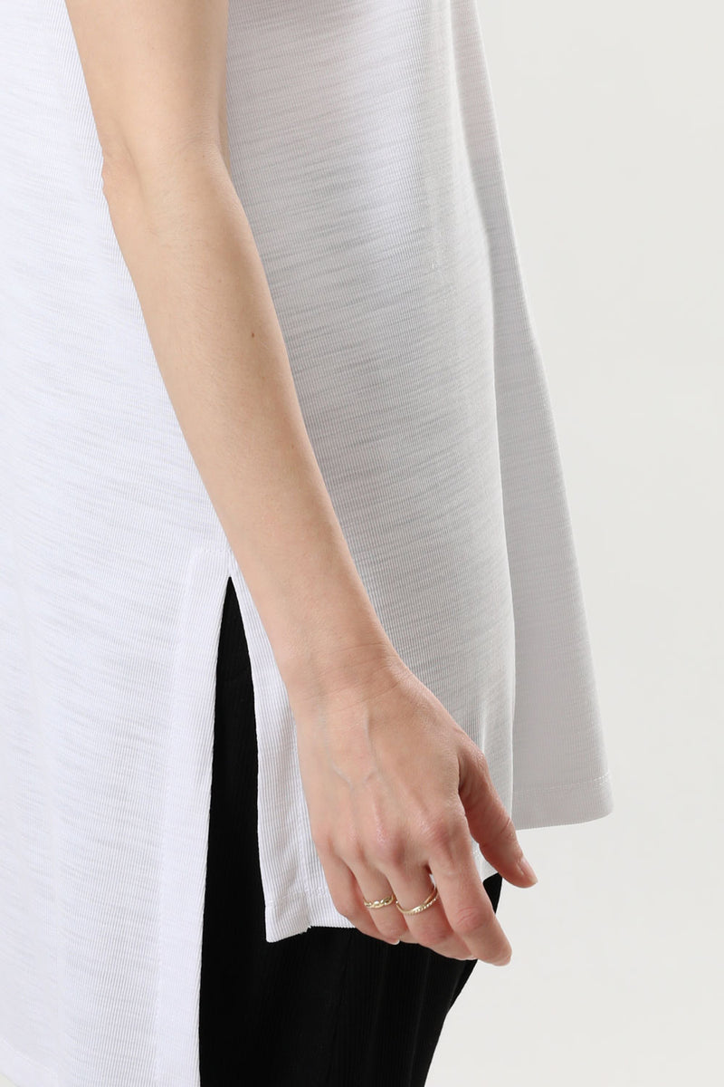 Kimi Tank Top White Slab - layou-design