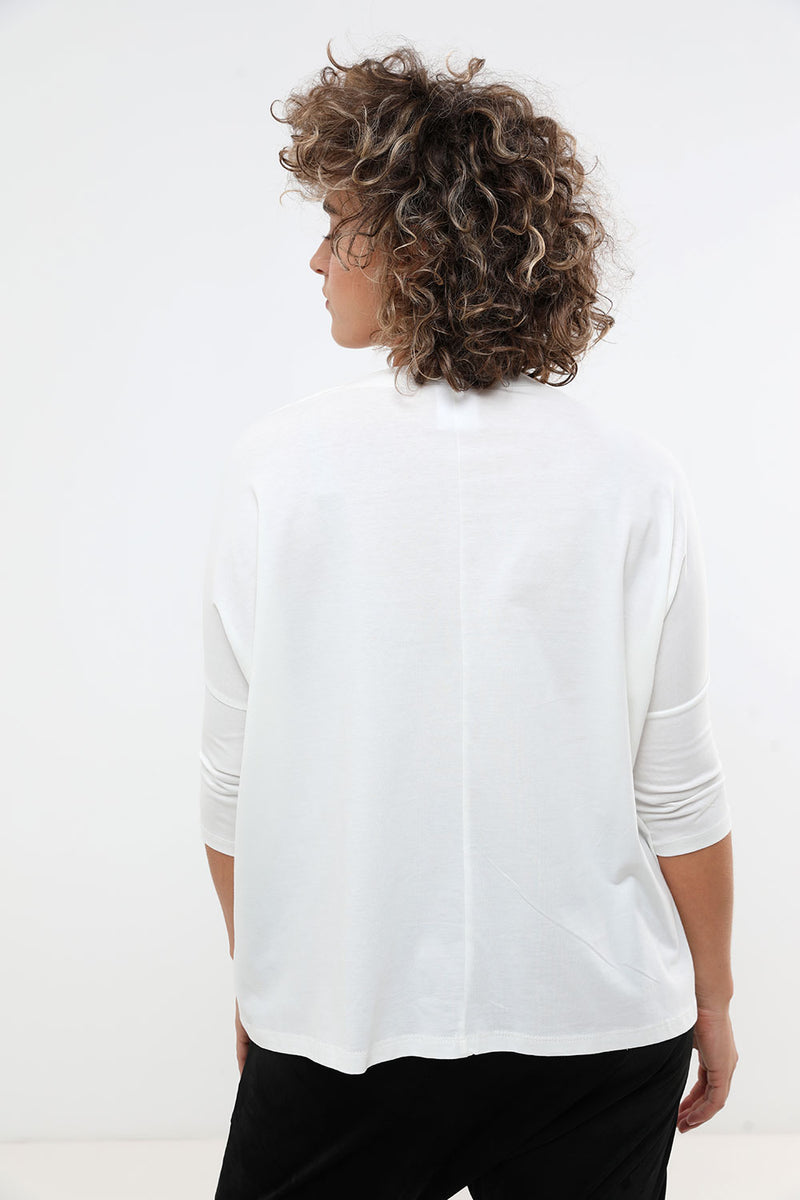 Jamie shirt cream - layou-design