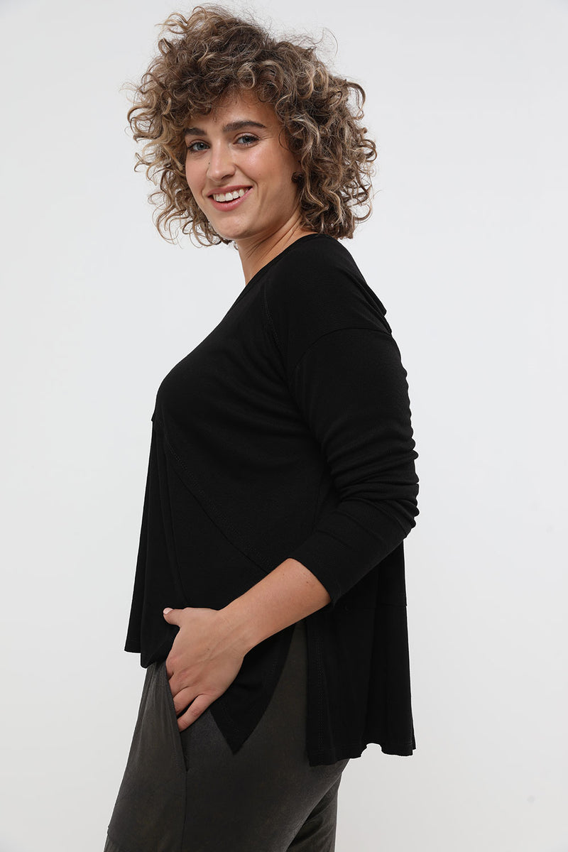 Val top black - layou-design