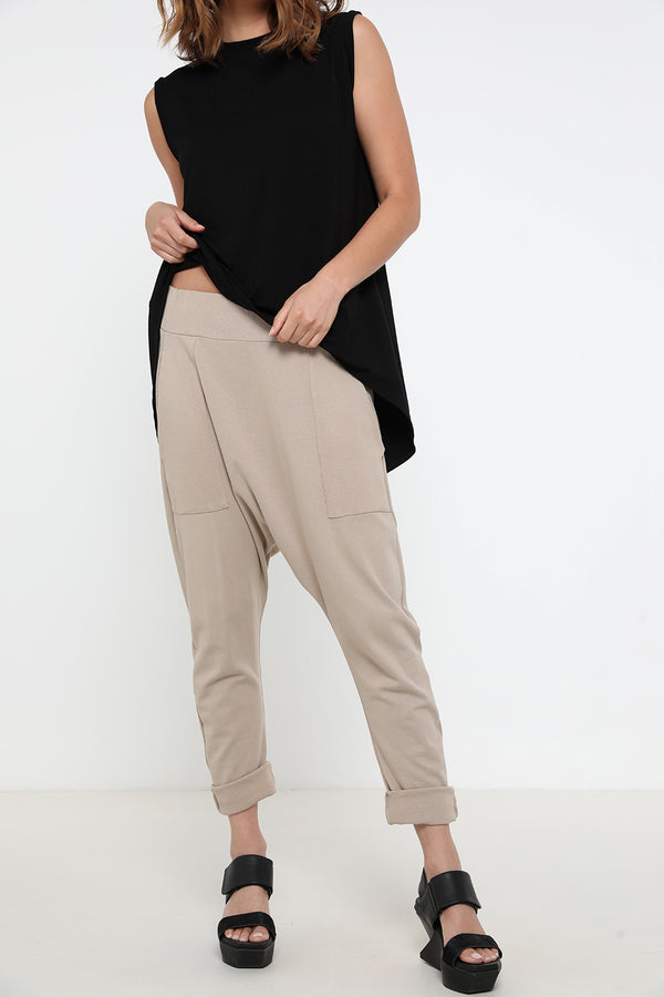 Gypsy pants beige - layou-design