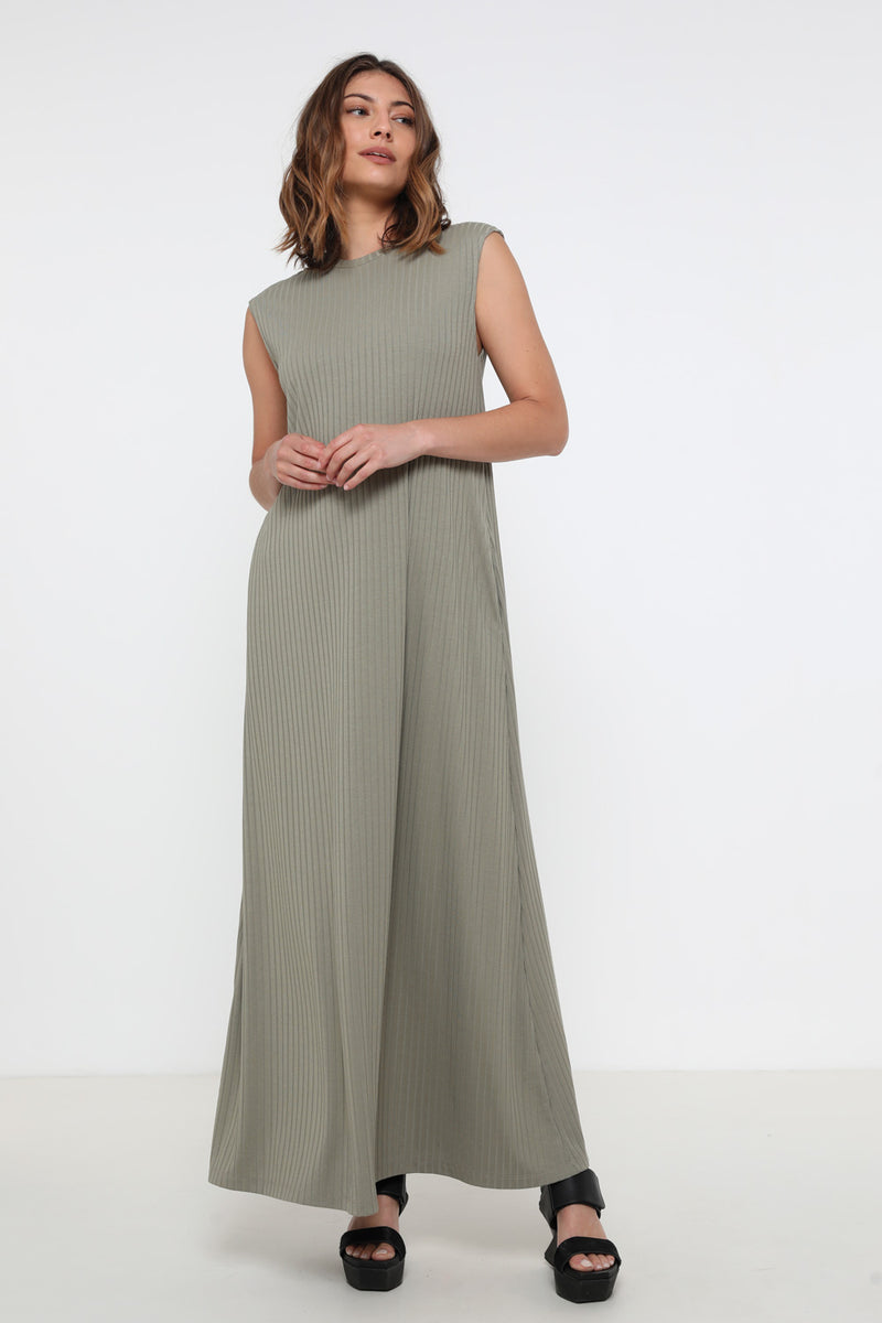 Francis dress green - layou-design