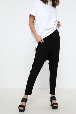 Gypsy rib pants black - layou-design