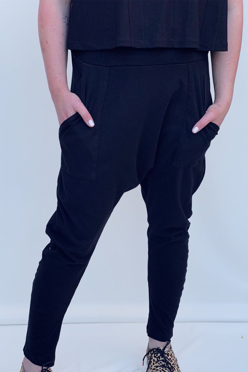 Gypsy pants black - layou-design