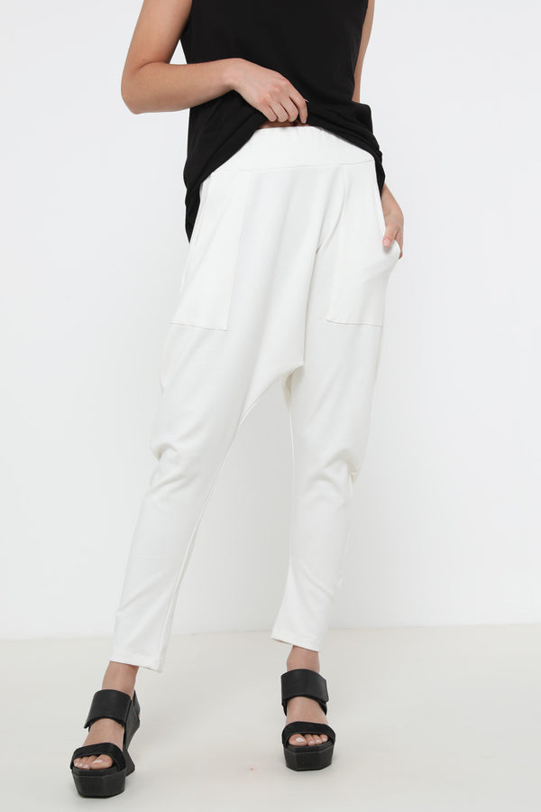 Gypsy pants white - layou-design