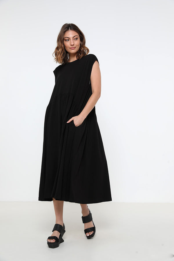 Jess dress black - layou-design