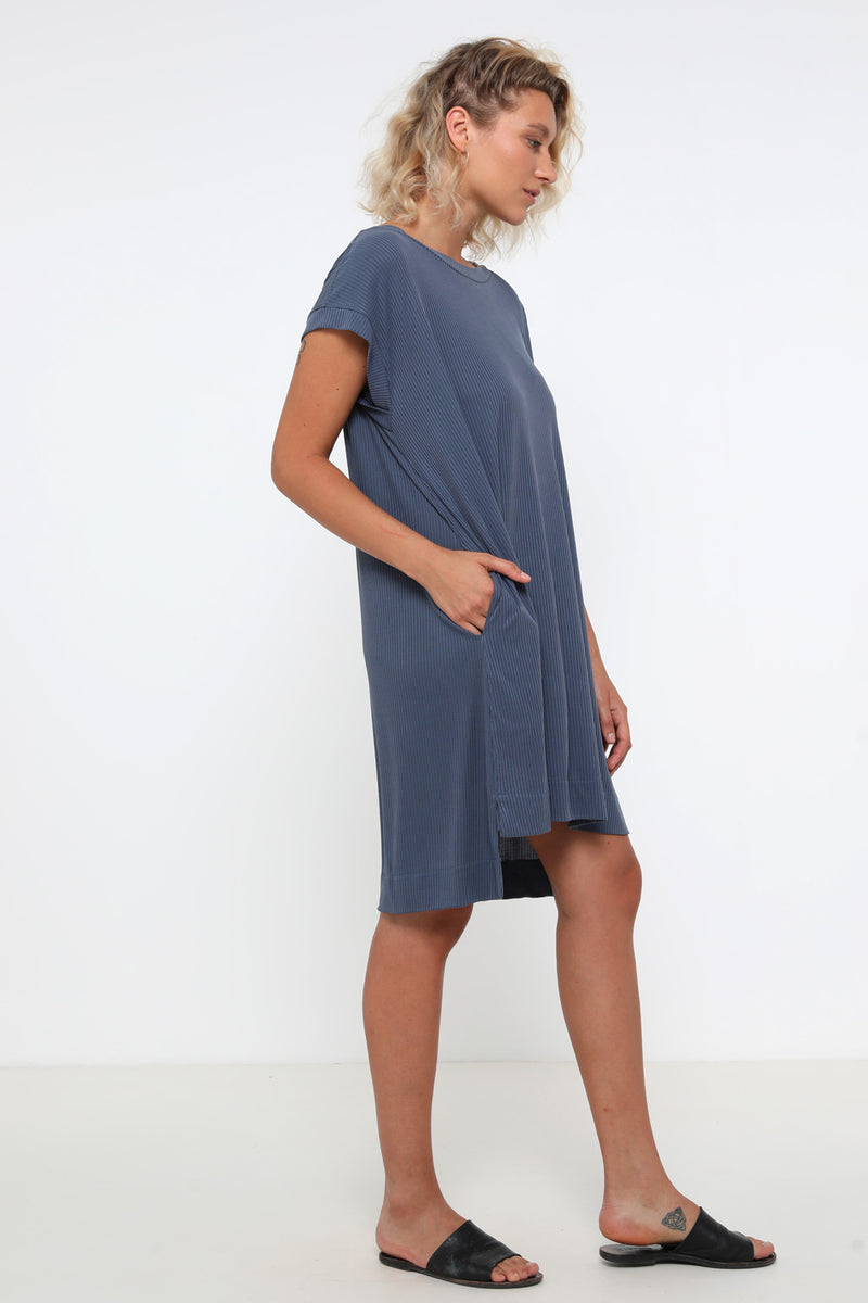 Liz dress blue - layou-design