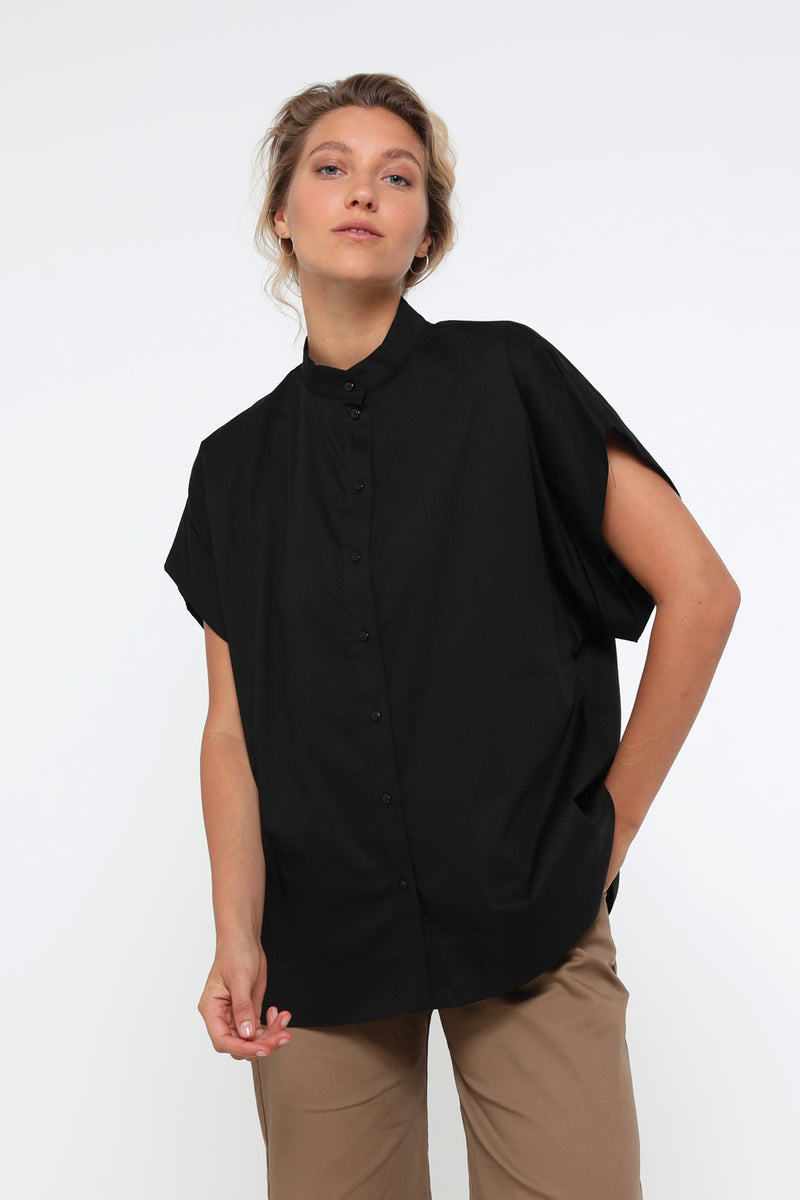 Paris shirt black - layou-design