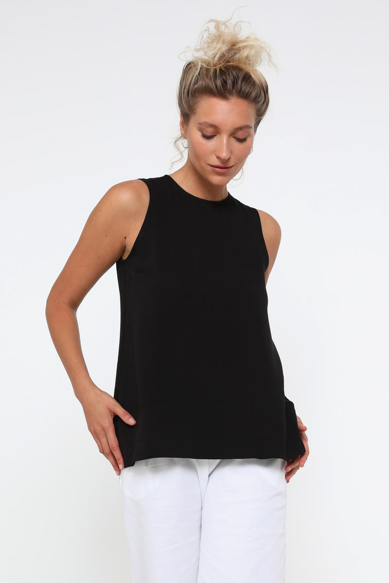 Sterling Tank Top Black - layou-design