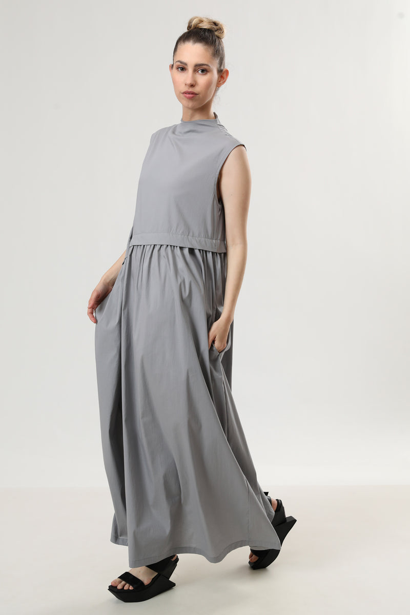 Trudy Dress Grey - layou-design