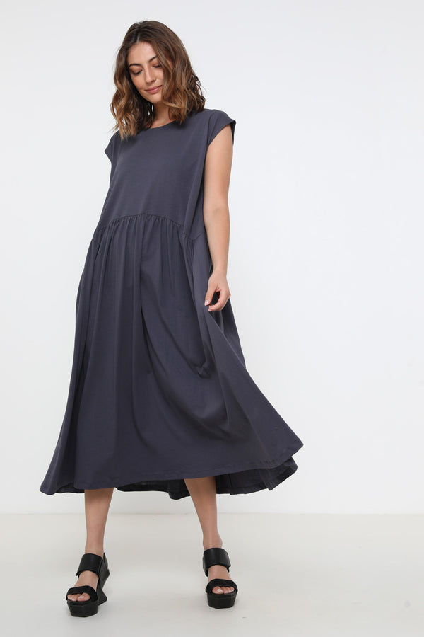 Jess dress steel - layou-design