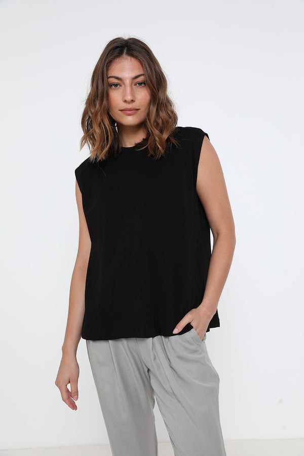 Logan tank top black - layou-design