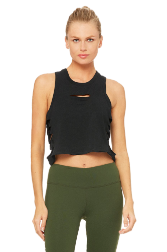 Alo Cut It Out Cropped Tank