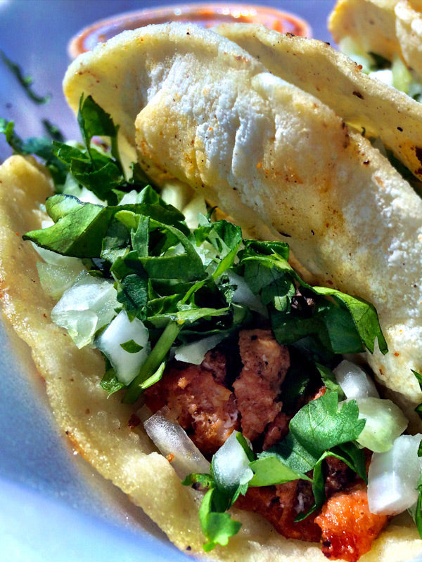 Quick and Easy Skinny Latina Carnitas Tacos