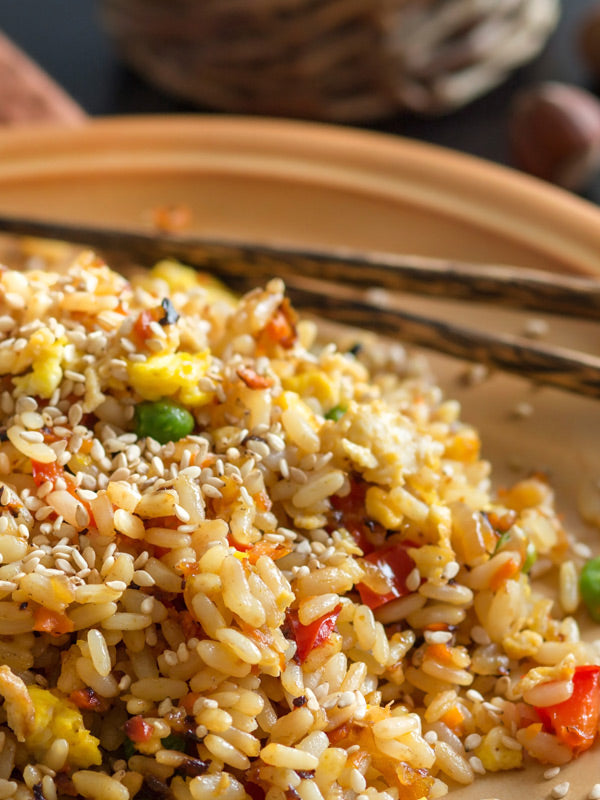 Skinny Latina Vegetarian Fried Rice