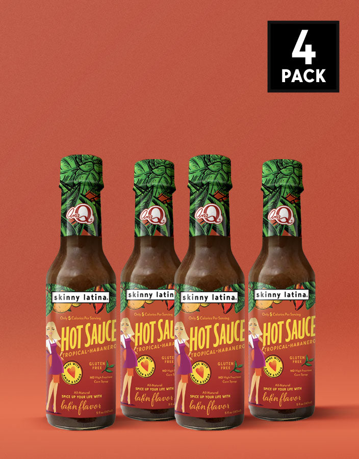 Hot Sauce Tropical-Habanero 4-Pack