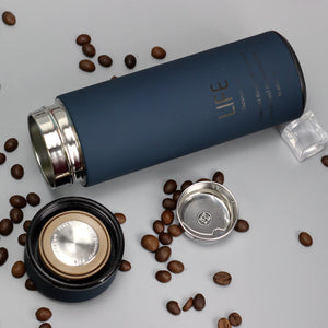 LIFE Coffee Tea Vacuum Seal Thermos WIth Filter