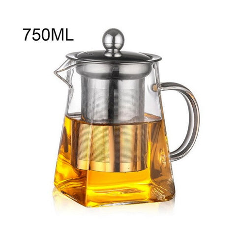 Borosilicate Glass Teapot With Filter